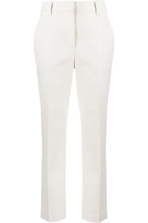 Brunello Cucinelli Cropped slim-fit trousers