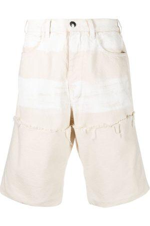 Marni Frayed-detail bermuda shorts