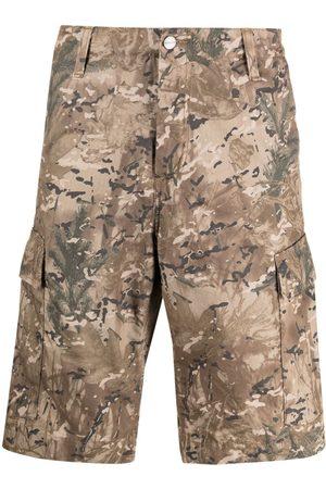 Carhartt Camouflage-print regular cargo shorts