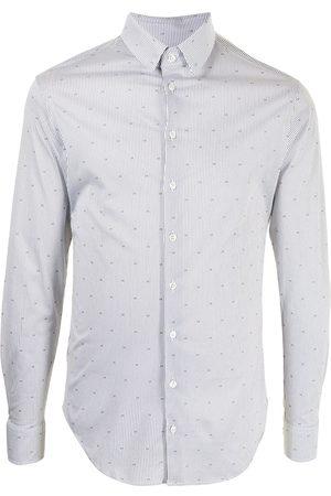 Armani Monogram print cotton shirt