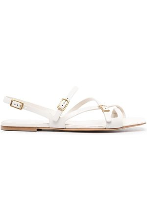 Tod's Crossover-strap flat sandals