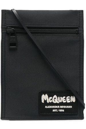 Alexander McQueen Logo patch shoulder bag