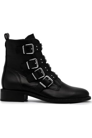 Carvela Multi-strap leather ankle boots