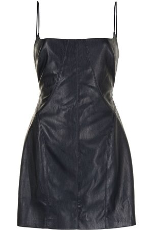 MANNING CARTELL Faux leather mini dress