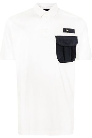 Emporio Armani Cargo-pocket polo shirt