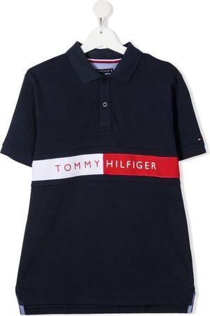 Tommy Hilfiger TEEN Flag logo polo shirt