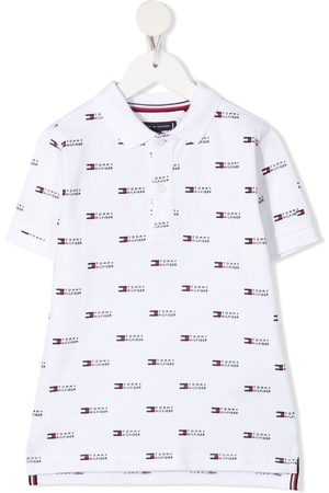 Tommy Hilfiger Monogram-print polo shirt