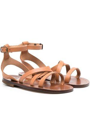 PèPè Strappy leather sandals