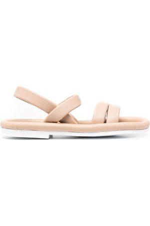 ROBERTO DEL CARLO Padded open-toe sandals