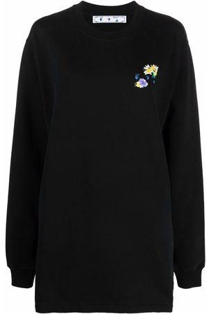 OFF-WHITE Arrows print sweatshirt dress