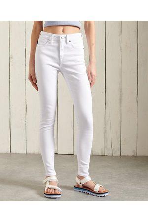 Superdry Dames Skinny - Skinny jeans met hoge taille