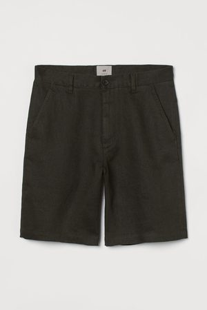 H&M Linnen short - Straight Fit