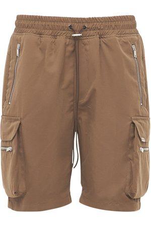 Represent Heren Shorts - Cotton Cargo Military Shorts