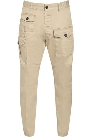 Dsquared2 16cm Sexy Cargo Stretch Cotton Pants