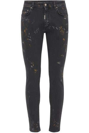 Represent Heren Skinny - Essential Painted Skinny Denim Jeans