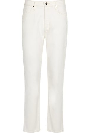 Goldsign Dames Straight - High-rise straight jeans