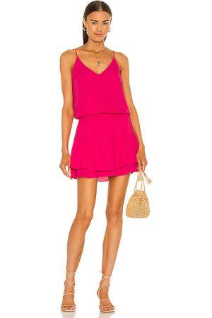 krisa Dames Korte jurken - Smocked Waist Cami Mini Dress in