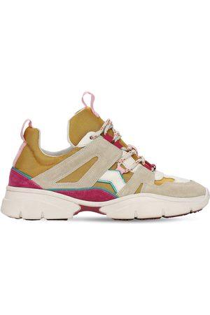 Isabel Marant Meisjes Sneakers - 30mm Kindsay Mesh & Suede Sneakers