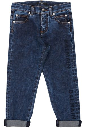 Balmain Stretch Cotton Jeans