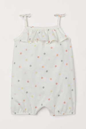 H&M Baby Outfit sets - Kruippakje met volants