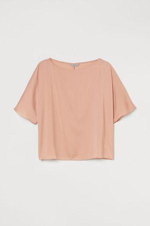 H&M Dames Blouses - Satijnen bloes