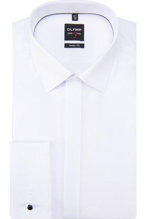 Olymp Level five body fit smoking overhemd met lange mouwen