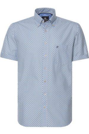 Campbell Casual overhemd met korte mouwen