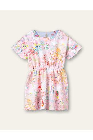 Oilily Meisjes Jersey jurken - Thecity jersey jurk
