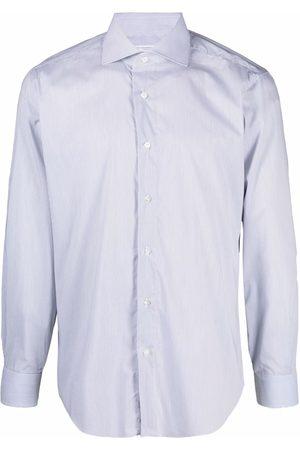 BARBA Long-sleeve button-front shirt