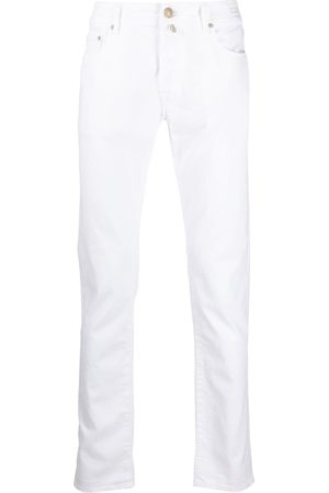 Jacob Cohen Low-rise straight-leg jeans