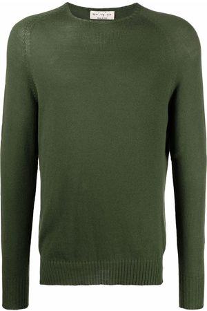 MA'RY'YA Knitted cotton-blend jumper