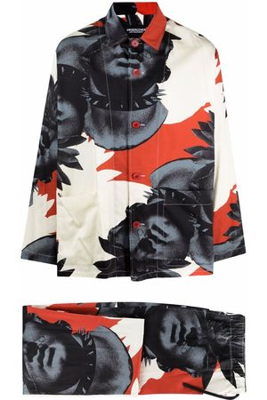 UNDERCOVER Two-piece print suit