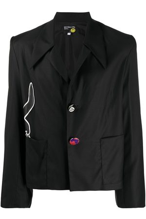 DUOltd Heren Blazers - Embroidered cat blazer