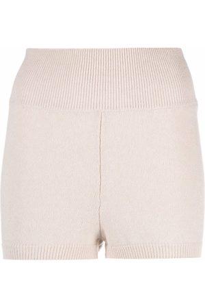AMI AMALIA Knitted biker shorts