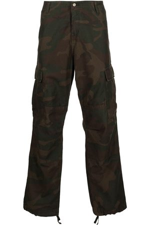 Carhartt Camouflage-print cargo trousers