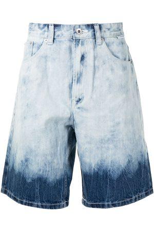 FIVE CM Dip-dye denim shorts