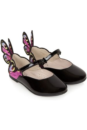 SOPHIA WEBSTER Chiara embroidered ballet shoes
