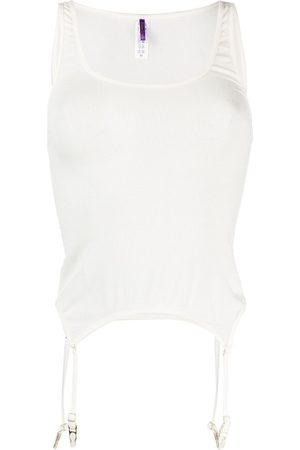 MAISON CLOSE Sleeveless modal camisole