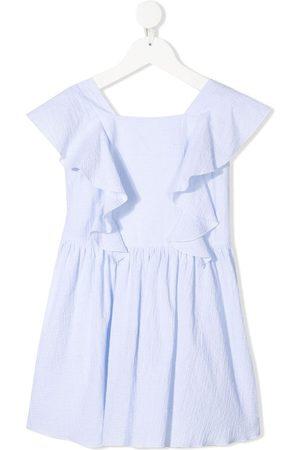 Emporio Armani Ruffle-detail dress