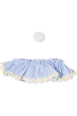 Piccola Ludo Dream floral-appliqué bikini top