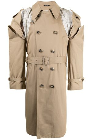 Maison Margiela Deconstructed cut-out trench coat