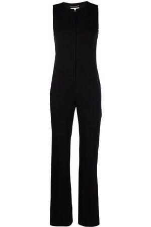 Saint Laurent Sleeveless crepe jumpsuit