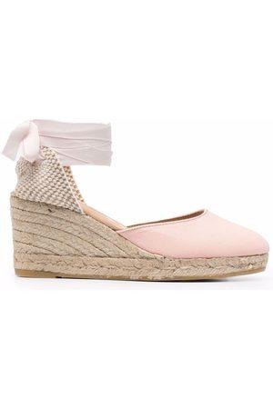 MANEBI Hamptons wedge espadrille shoes