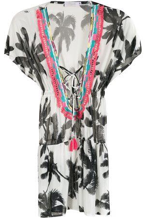 Brigitte Printed beach dress