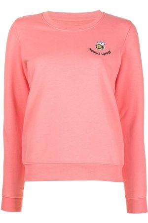 Markus Lupfer Leonie embroidered bee sweatshirt