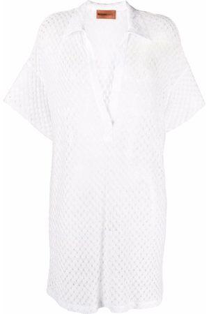 Missoni Pointelle-knit tunic dress