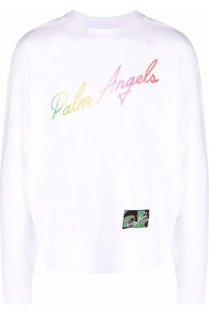Palm Angels Miami logo sweatshirt