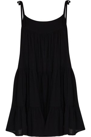 Honorine Dames Little black dress - Peri tiered minidress