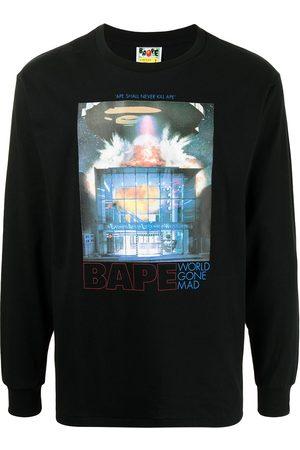 A BATHING APE® Heren Sweaters - World Gone Mad sweatshirt