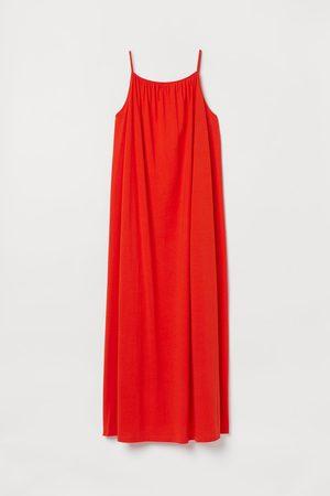 H&M Mouwloze maxi-jurk